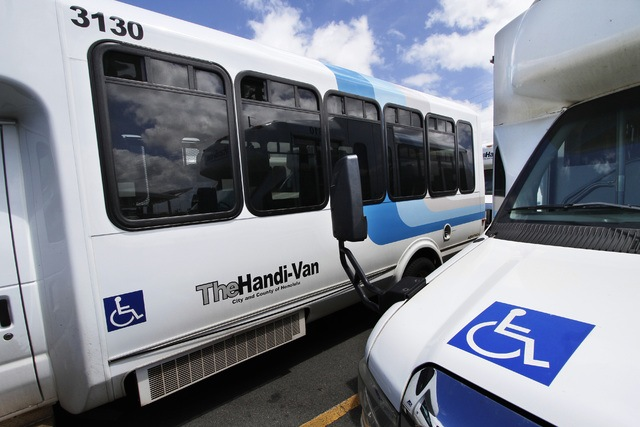 The Handi-Van - Individuals with disabilities who are unable to use TheBus can be eligible to use this alternative public transit service islandwide. Reservation is required. Find more information on TheHandi-Van here:  The Handi-Van Rider's Guide PDF or The Handi-Van Rider's Guide MS Word.
