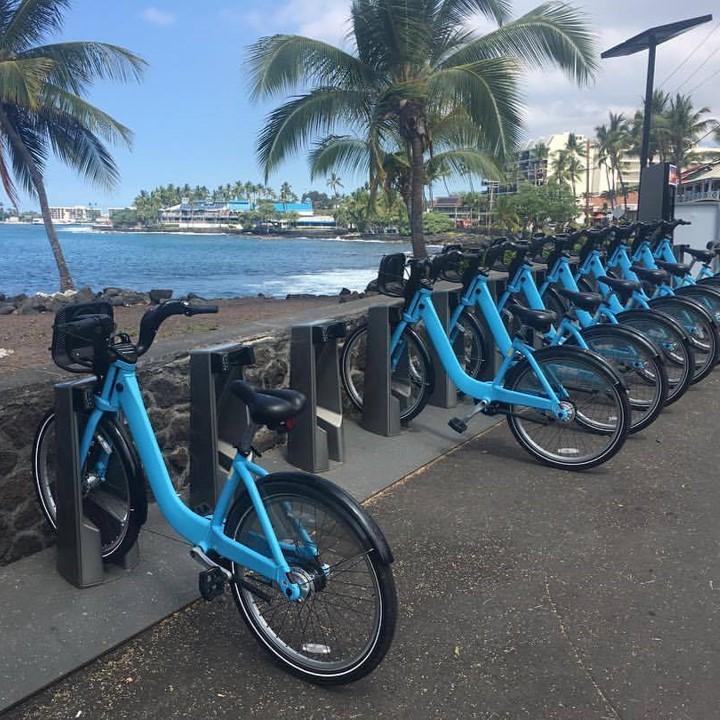 Bikeshare Kona Hawai'i Island