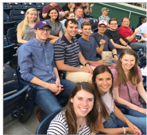 HNI Participants at at Washington Nationals Game