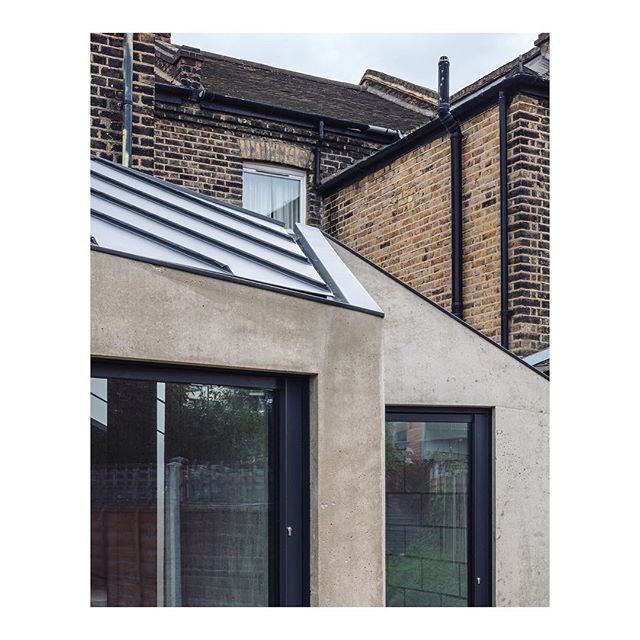 Preview / detail; tactile, sculptural and obliquely angled extension to terraced house in East London, formed using mainly in-situ concrete. More images to follow on our website very soon: www.studiomcw.co.uk  Photography by: @marcuspeelphotography . . . . . #architecture #building #architexture #architect #minimalisthome #urban #buildings #design #minimal #london #concrete #extension #architecturelovers #architectureporn #minimalism #minimalist #interiordesign #london #instagood #style #zinc #homeextension #concretedesign #eastlondon #vscocam #concreto #brutalist #designer