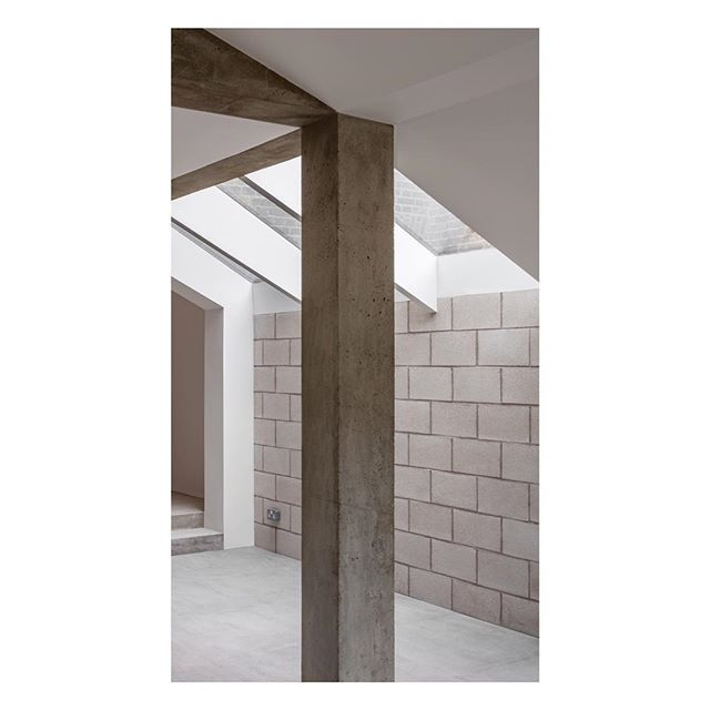 Internal view of the finished project in East London. Concrete and fair-faced block-work make up a calming and tactile interior. . . . . #architecture #building #architexture #architect #city #urban #buildings #design #minimal #london #concrete #extension #architecturelovers #architectureporn #minimalism #cornerofmyhome #interiordesign #london #instagood #style #exposed #interior #archidaily #interiorismo #vscocam #concreto #brutalist #designer