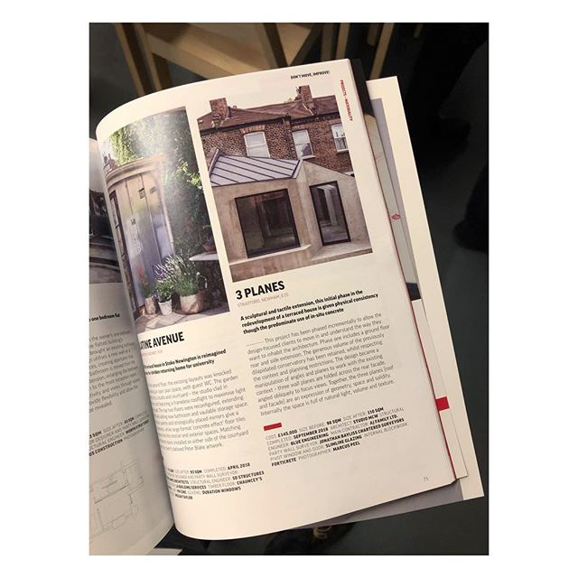 Fantastic evening at the Don't Move, Improve! 2019 awards and opening. The exhibition is now on at the @nlalondon Building Centre, which we feature in alongside many other brilliant projects. Be sure to grab a copy of the magazine too!  _ _ _ _ #architecture #architecturelovers #interiordesign #architectureporn #interior #architect #londondesign #architexture #housedesign #luxury #architecturephotography #londonarchitecture #minimalist  #interiordesigner #renovationproject #modernhouse #concretearchitecture #minimalism #concretedesign #simple #interiorinspo #concreto #home #minimal #renovation #minimalist #homedesign #concrete #residentialarchitecture