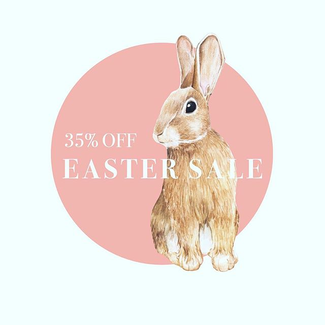 EASTER DISCOUNT ALERT 🛍 35% off our collection here at the shop! This promotion excludes Jellycat & artwork. • • • #shop #local #easter #basket #spring #sale #plainjane  #athensga