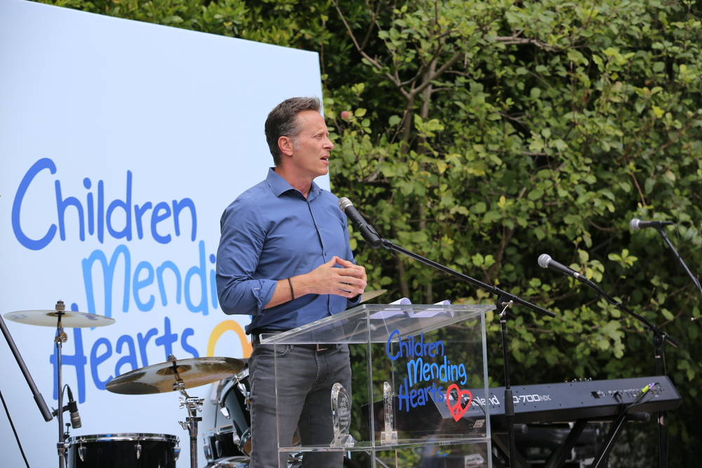 Steven Weber was kind enough to emcee our ceremony again this year