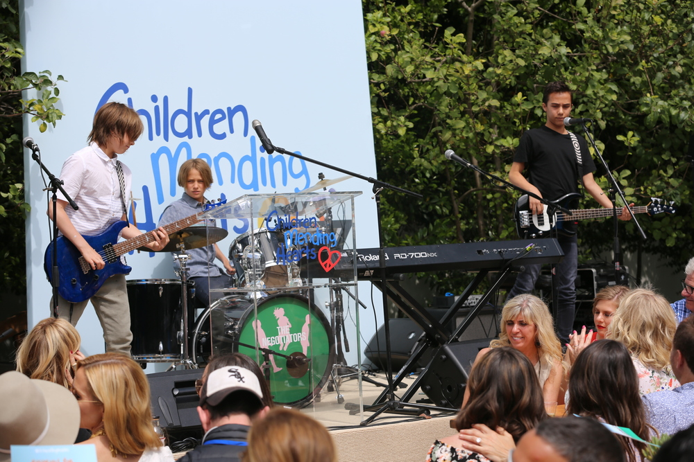 Teen band The Negotiators rocked our stage again this year!
