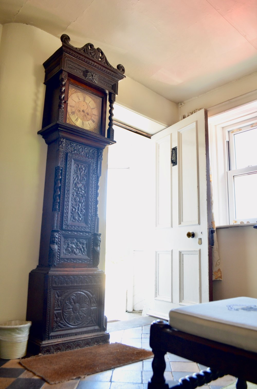 Cedric Boult's Grandfather Clock