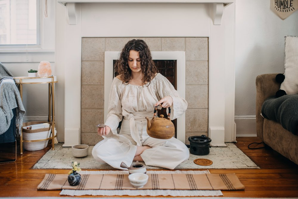 Personal Tea Ceremony - They say Tea is the great connector and what a beautiful way to celebrate and spend time with those you love. Gather together with friends and family to set intentions and connect from a deep heartfelt place. Personal tea ceremony can be experienced in your home and are ideal for a group of up to 10 people.
