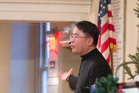 Reverend Mark I. Salvacion - Pastor Mark Welcomes All