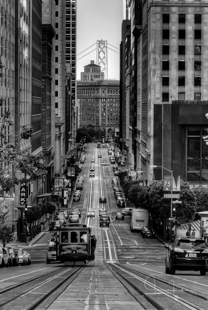 San Francisco in B&W
