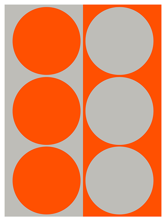 DYNAMIC PAIR, ORANGE GRAY