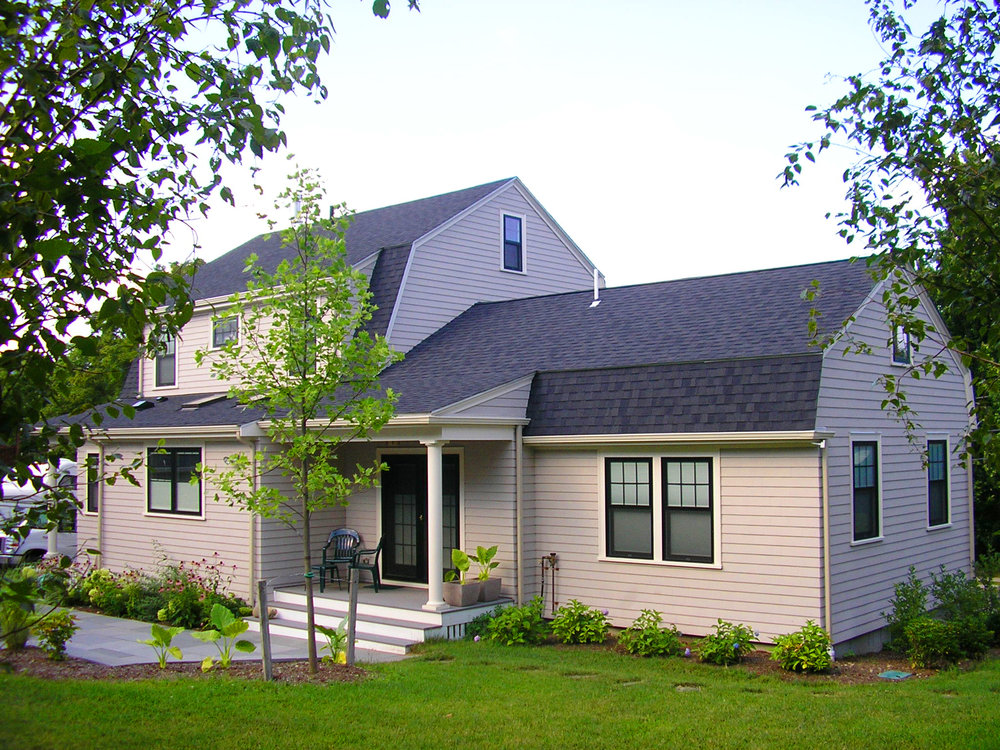 Cathedral Gambrel Home Remodel | Dickinson Architects, LLC | Arlington, MA