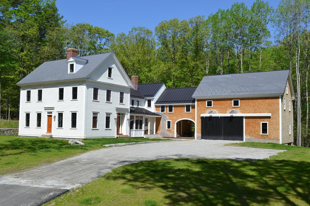 Historic Farm House | Dickinson Architects, LLC | Acton, MA