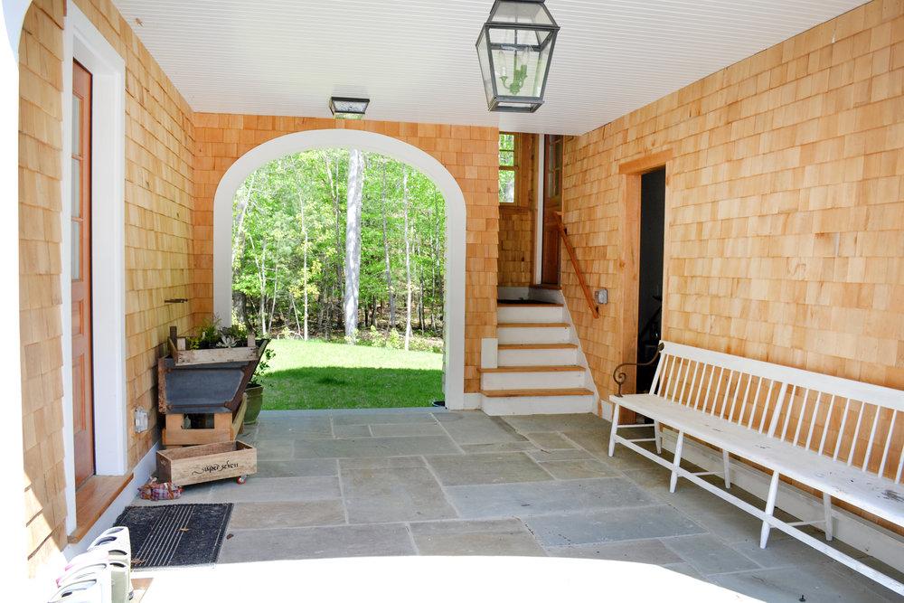 Historic Farm House Clapboards Shingles Stone | Dickinson Architects, LLC | Acton, MA