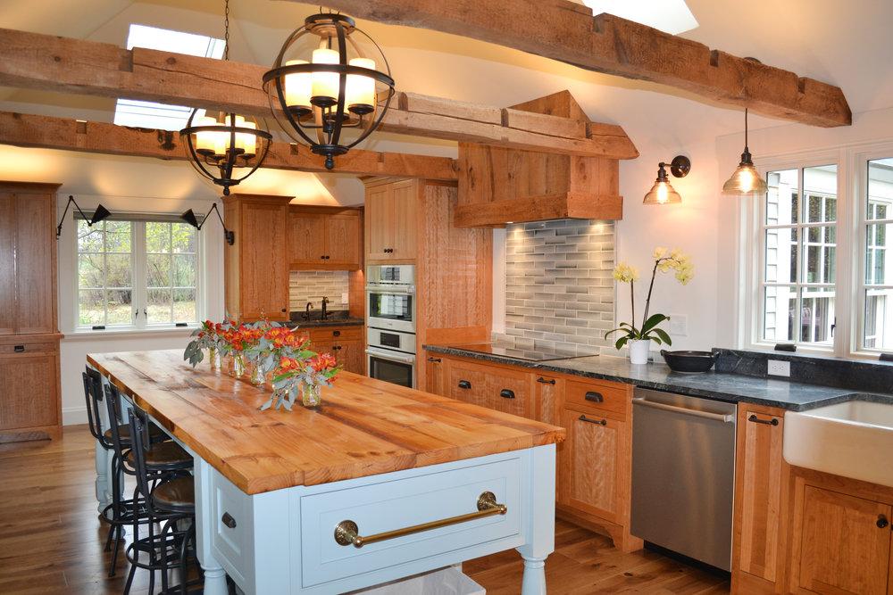 Historic Farmhouse Renovation | Dickinson Architects, LLC | New England Massachusetts