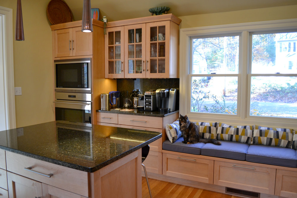 Open Up Cape | Dickinson Architects, LLC | Concord, MA Kitchen Remodel