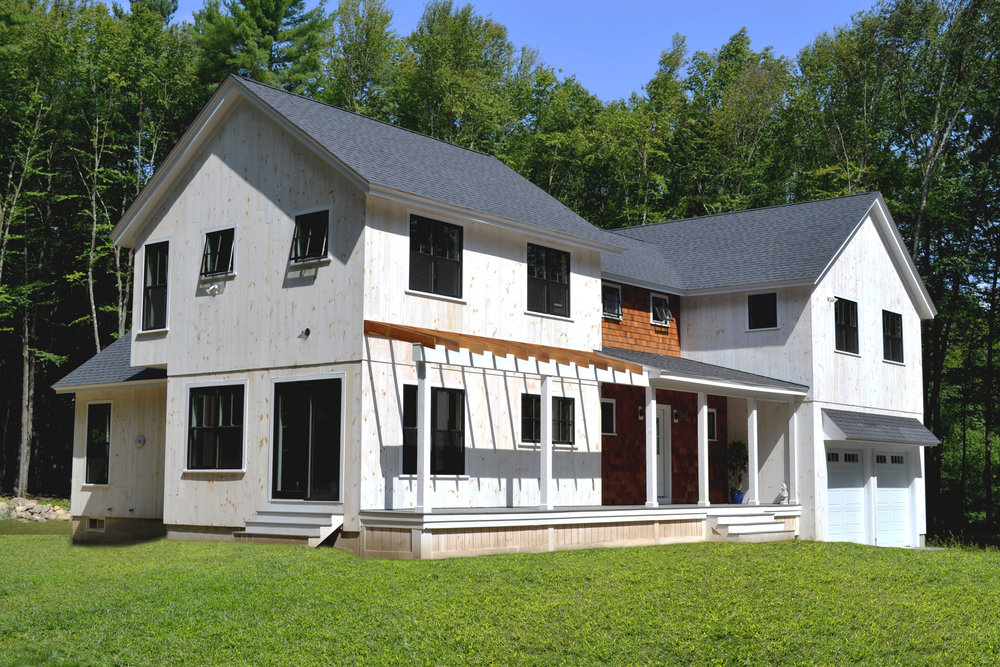 New Age Farmhouse | Dickinson Architects, LLC | Carlisle, MA