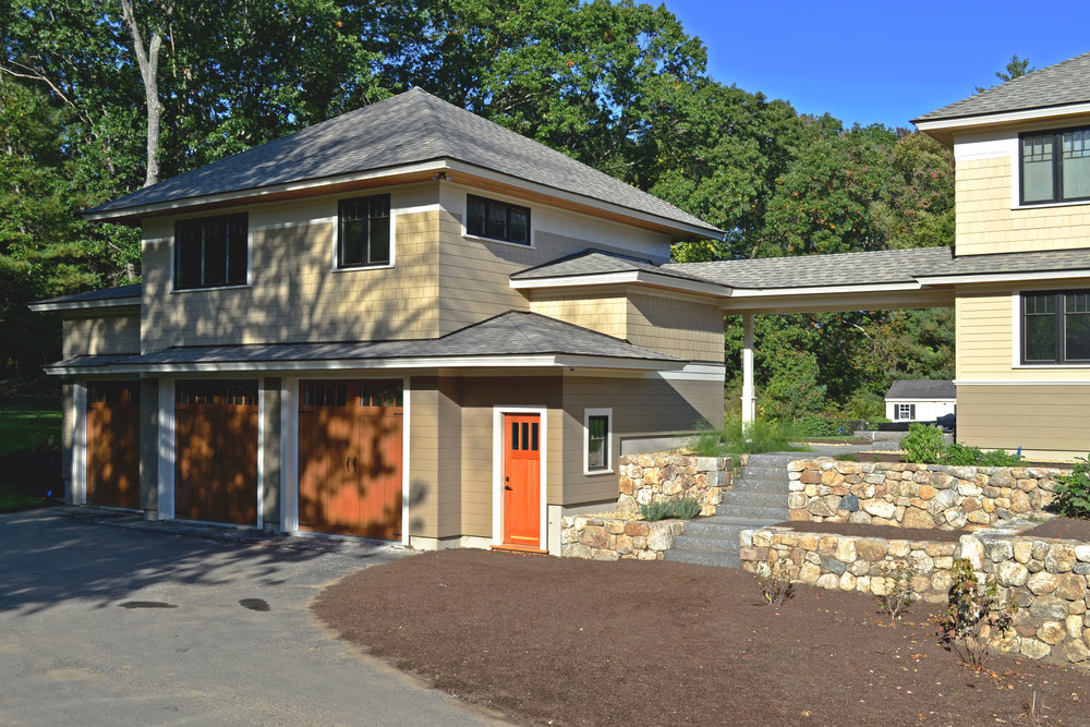 Zero Energy Prairie Home Construction | Dickinson Architects, LLC | Concord, MA