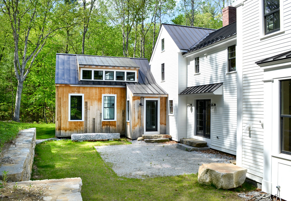 Historic Farm House Salvaged Barn Wood | Dickinson Architects, LLC | Acton, MA