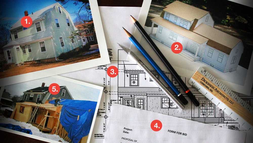 Dickinson Architects, LLC | Concord Massachusetts | Design Process