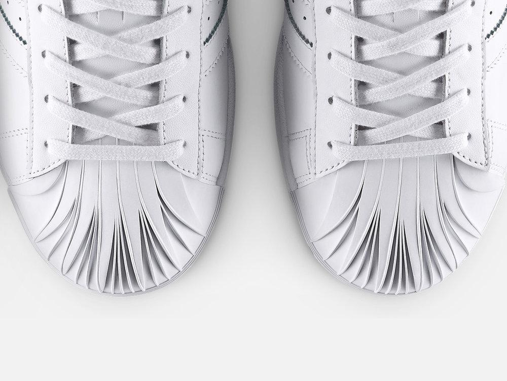 Adidas Originals :: Pharrell Williams | Supershell x Zaha Hadid