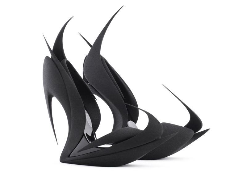 Flames 3D Printed Heels | Photo Credit: United Nude