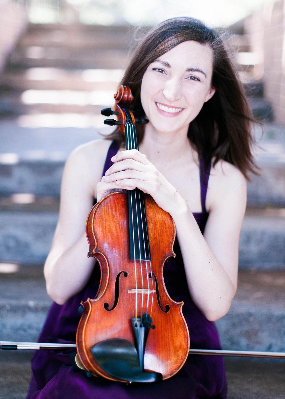 Erin Weber, violin
