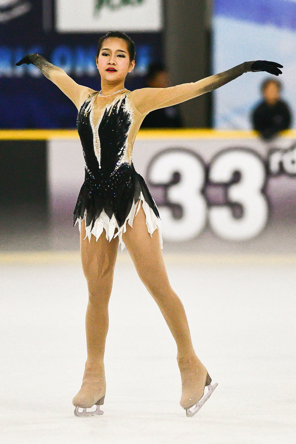 Friday 17 Mar - Promsan Rattanadilok Na Phuket scored a 73.43 for her free skate. With a combine score of the short program 44.37 brings her final score to 117.80 to 1st Place at Imperial World Ice Skating in Bangkok, Thailand. (Credit Image: Thailand Photo SEALs Sports Photography) (Photographer: Naratip Golf Srisupab)