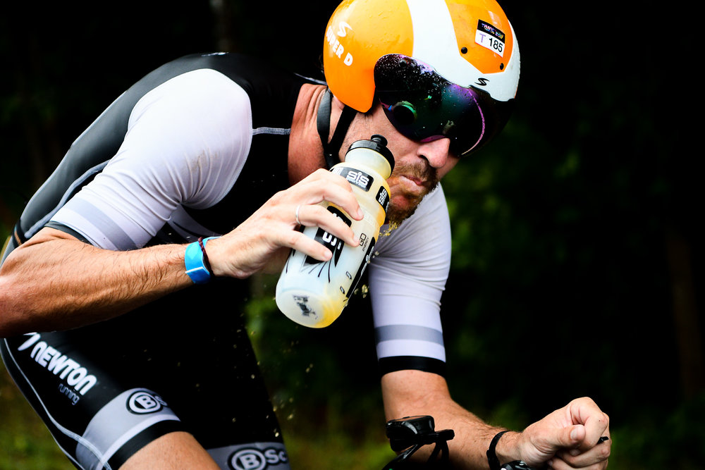 TRANG, THAILAND - AUGUST 27: Mitchell Robins of Australia on the 40k cycling course during Trang Thrilling Triathlon 2017 on August 27, 2017 in Chao Mai National Park, Trang, Thailand. (Photo by: Naratip Srisupab/Thailand Photo SEALs Sports Photography)