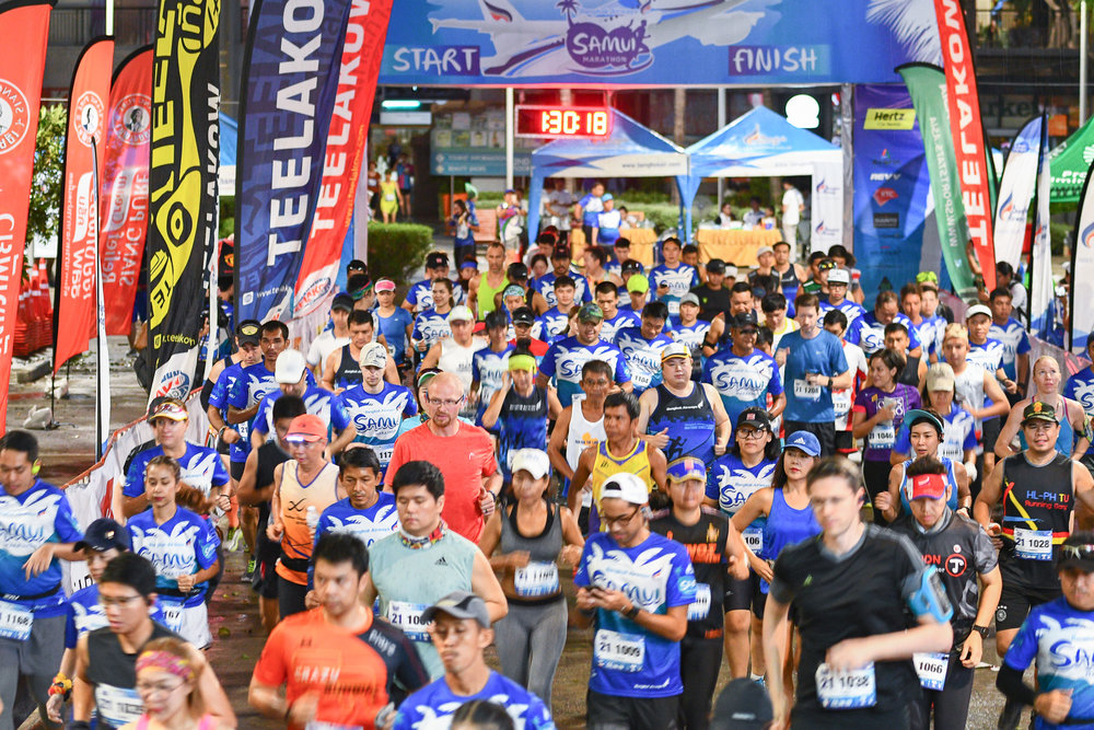 Bangkok Airways Samui Marathon