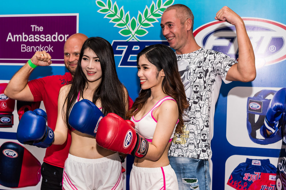 BANGKOK, THAILAND - OCTOBER 07: Guests and spectators arriving for the Proflex Fight Night on October 07, 2016 at Ambassador Hotel, Bangkok, Thailand. (Photo by: Naratip Srisupab/Thailand Photo SEALs Sports Photography)