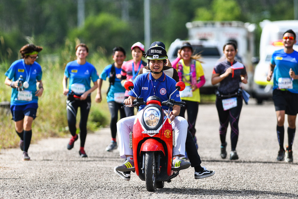 PHUKET, THAILAND - JUNE 18: Participants during the Andaman Trails 2017 on June 18, 2017 at Ban Bang Niew Dam Reservoir Project, Phuket, Thailand. (Photo by: Naratip Srisupab/Thailand Photo SEALs Sports Photography)