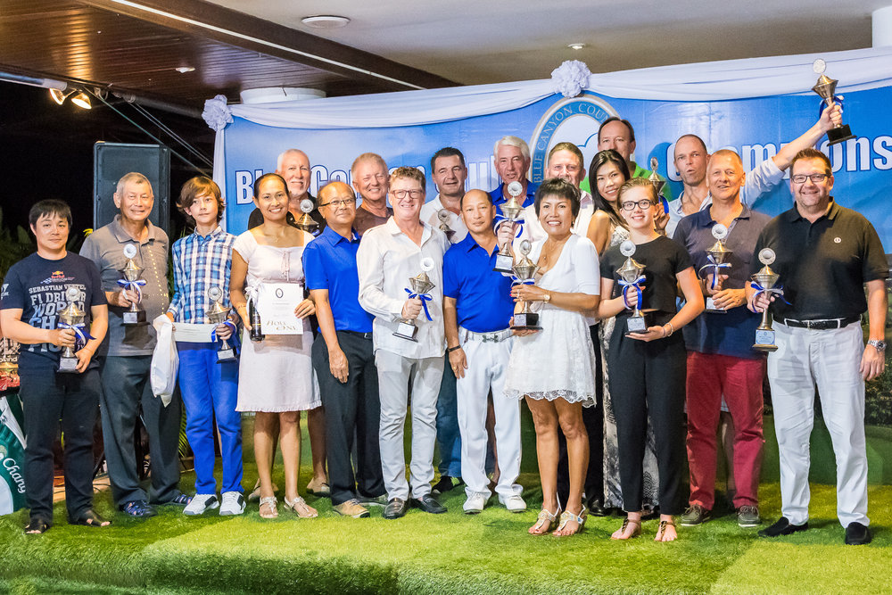 2016 Champions from all divisions.