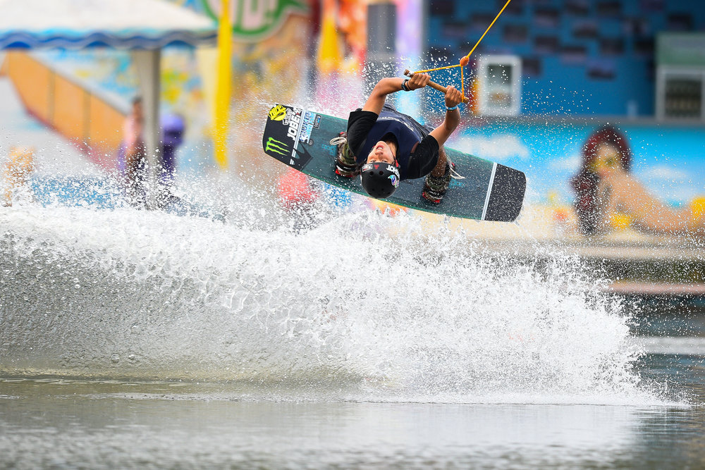 PHUKET, THAILAND - OCTOBER 30: Participants during the The Gravity Wake Open 2017, Phuket Water Park, Phuket, Thailand on September 30, 2017. (Photo by: Naratip Srisupab/SEALs Sports Images)