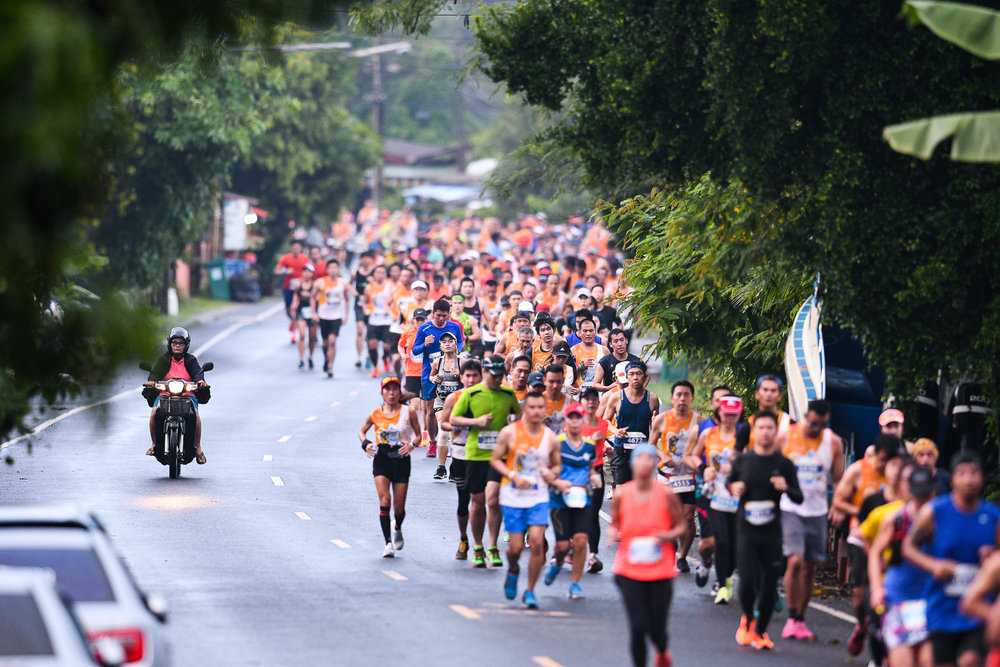 PHUKET, THAILAND - JUNE 10: WHO during the 13th Laguna Phuket Marathon 2018, Phuket, Thailand on June 10, 2018. 