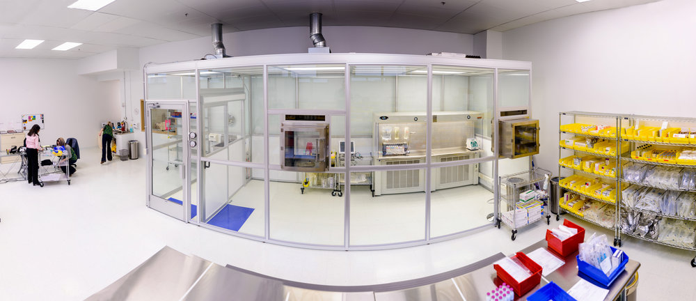 RHI clean room. Photo courtesty of Rochester Home Infusion.