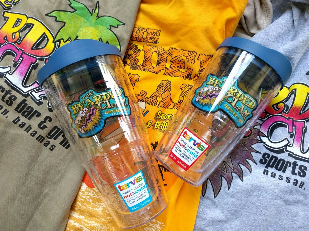 Tervis Small - $25  Tervis Large - $30