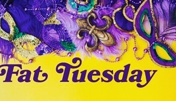 It's Fat Tuesday! Let the fun begin! Stop on by for some great drink specials and your bearded clam Beads! 🎉👯♀️🥂🍸🥳💃🏽
