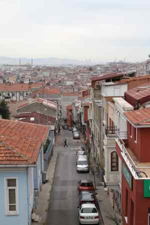 View of Istanbul from the City Walls.