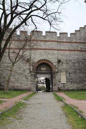 One of the old entrances into the city - restored.