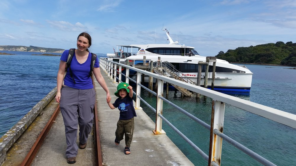Our ferry.