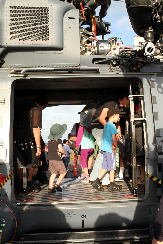 Inside a NH90