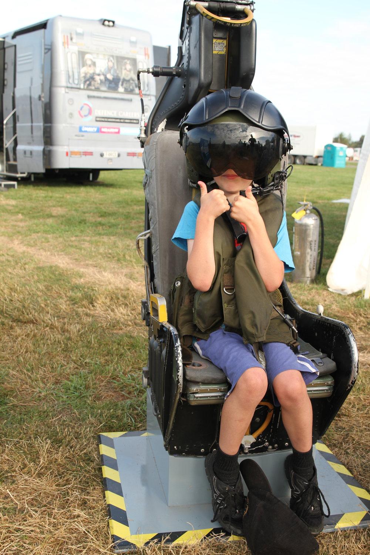 Skyhawk ejector seat