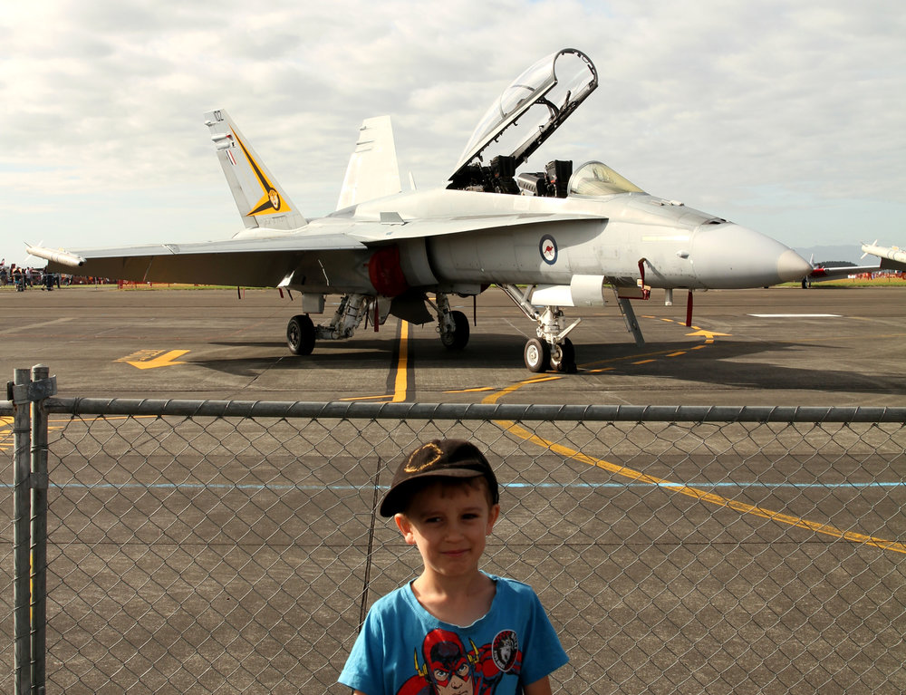 F-18 from the Australian Air Force