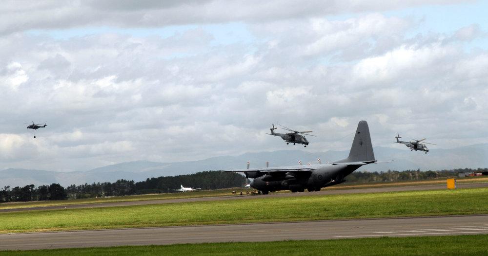RNZAF Hercules & NH90's