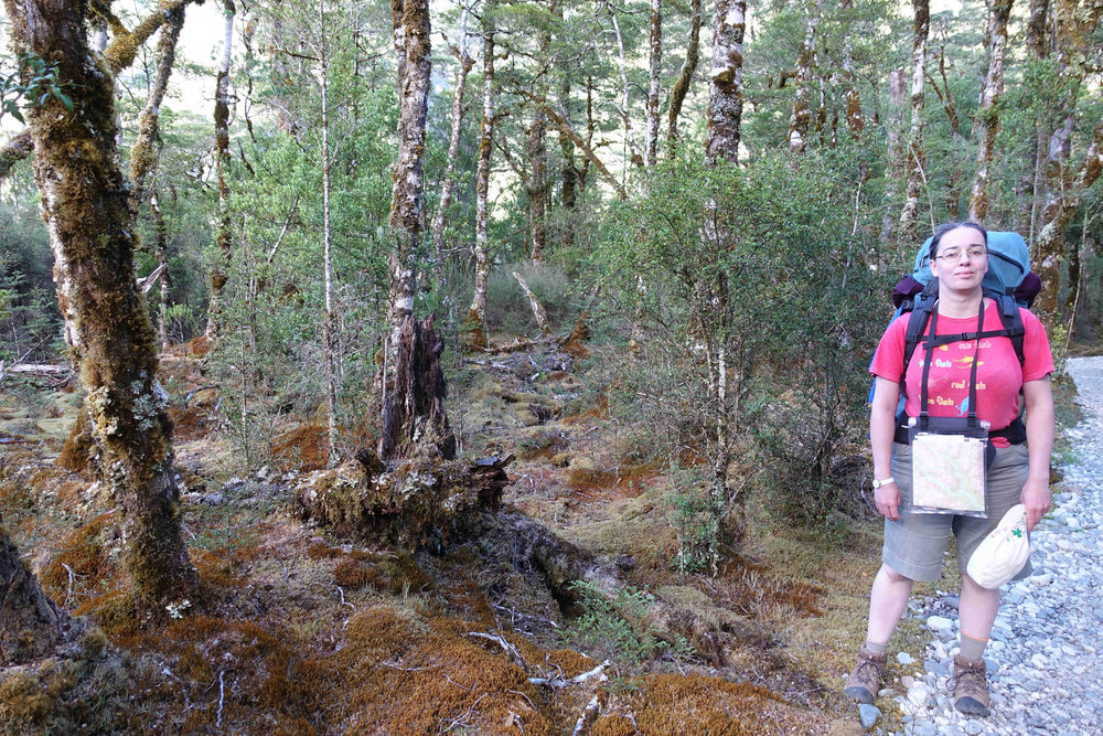Julianne and South Island Beech Forest