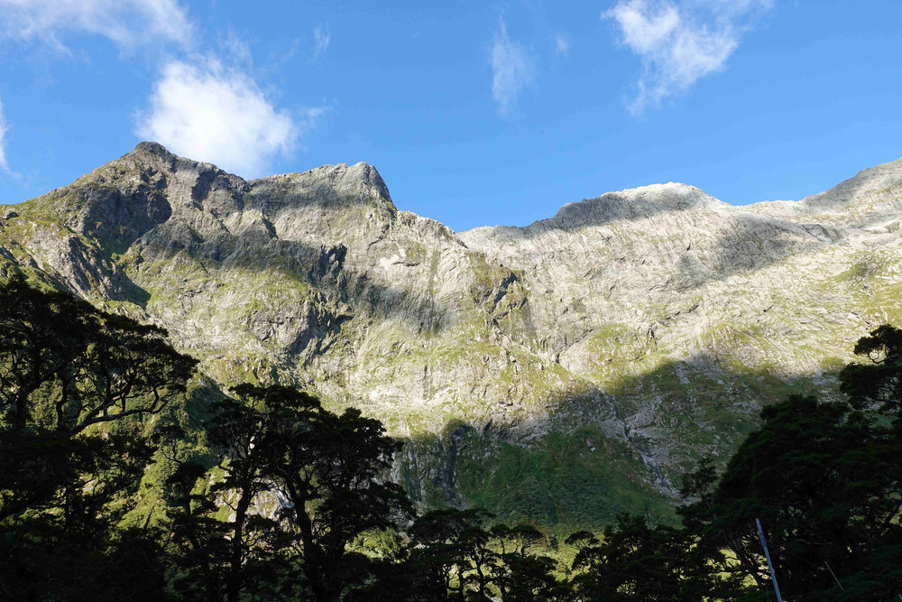 Looking up at the Mackinnon Pass, where tomorrows journey will take me