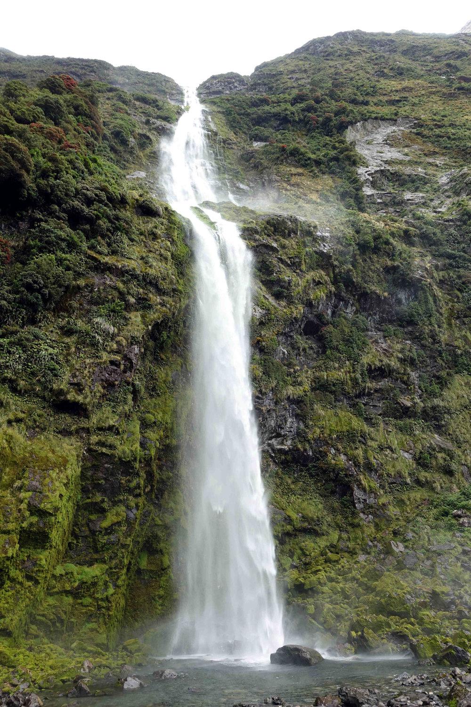Sutherland Falls at 580m