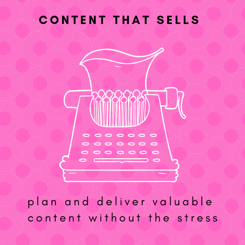 Module 3 -CONTENT THAT SELLS - We will dive deep into how to plan and structure your content in a way that makes sense for your type of business, provides real value for your clients, and can be created and set-up in a non-stressful way for you. The secrets behind 'how' to plan your content this way are located right here in this module
