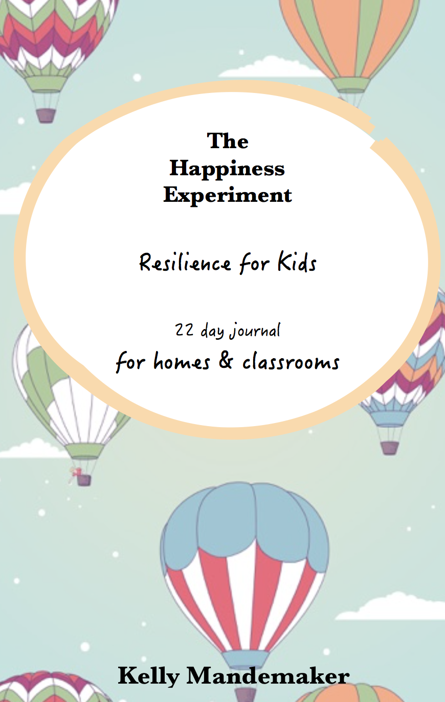 Resilient Kids are Made. Not Born. - Welcome! I am so excited to be here, WITH YOU.If you are reading this, there's one thing we already have in common. We both know the value of personal growth in our kids. Given that 1 in 7 kids are affected by mental illness in a given year, it's our responsibility to impart simple, yet powerful skills to help them overcome the challenging days. And give them a tool they can draw on at the blink of an eye. This is what you will be getting in this inspirational and engaging program that can be done over 22 consecutive days, an entire term, or as part of an classroom integrated unit ( if you are a wonderful teacher reading this).This is the ULTIMATE classroom program for students aged 4+ which has been delivered to over 1700 educators and parents' inboxes globally.Download your A4, full colour, 52 page program at a click of a button, delivered into your inbox instantly. It is licensed for up to 30 students and can be printed in colour or b&w.Kids will:- learn how to label the positives in their day- discover basic meditation techniques for self regulation- explore how laughter can release oxytocin in the brain- build resilience- colour their way to happiness with the engaging mindful colouring pages...... and most importantly, experiment with happiness!