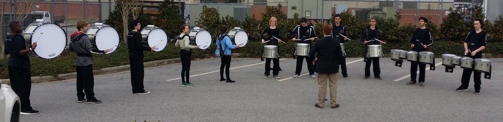 2015-2016 AFIPE rehearsing.